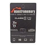 MAESTRO Memory Micro SDHC 32GB - Class 10 (Merchant) - Micro Secure Digital / Micro Sd Card
