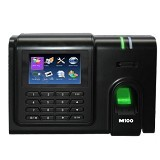 MAGIC Mesin Absensi Biometric Sidik Jari [M100] (Merchant) - Mesin Absensi Digital Standalone
