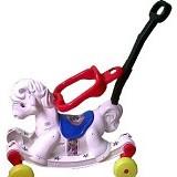 MAINAN ANAK Kuda Kudaan Plastik - White - Ride On and Tricycles