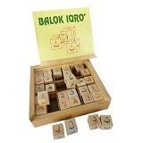 MAINAN EDUKASI Balok Iqra - Wooden Toy