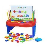 MAINAN EDUKASI First Classroom Funny Toy Studio Easel - Reading and Writing / Membaca dan Menulis
