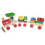 MAINAN EDUKASI Kereta Geo - Wooden Toy