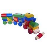 MAINAN EDUKASI Kereta Kayu Pelangi - Wooden Toy