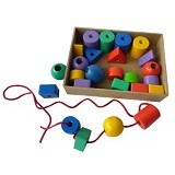 MAINAN EDUKASI Ronce Geo  25 pcs - Wooden Toy