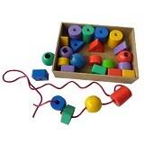 MAINAN EDUKASI Ronce Geo  25 pcs - Wooden Toy
