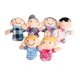 MAINAN EDUKASI Family Finger Puppet - Boneka Kain