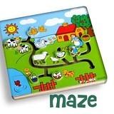 MAINAN EDUKASI Maze Peternakan - Wooden Toy