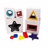 MAINAN KAYU EDUKATIF Alat Peraga Kotak Pelangi Angka (Merchant) - Wooden Toy
