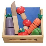 MAINAN KAYU EDUKATIF Alat Peraga Sayur Poyong (Merchant) - Wooden Toy