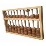 MAINAN KAYU EDUKATIF Alat Peraga Sempoa (Merchant) - Wooden Toy