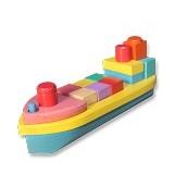 MAINAN KAYU EDUKATIF Balok Bangun Perahu - Wooden Toy