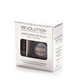 MAKEUP REVOLUTION Awesome Metals Eye Folls Black Diamond (Merchant) - Eye Glitter & Shimmer