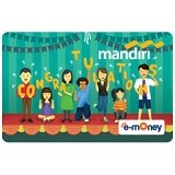 MANDIRI e-Money Congratulation - E-Toll Pass