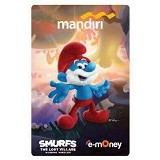 MANDIRI e-Money Smurfs The Lost Village Edition - Papa Smurf - E-Toll Pass