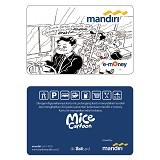MANDIRI e-Money Special Design Mice 02 - E-Toll Pass
