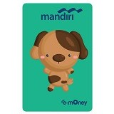 MANDIRI e-Money Special Imlek (Shio Cartoon Anjing) - E-Toll Pass