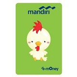 MANDIRI e-Money Special Imlek (Shio Cartoon Ayam) - E-Toll Pass