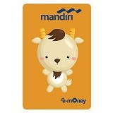 MANDIRI e-Money Special Imlek (Shio Cartoon Kambing) - E-Toll Pass