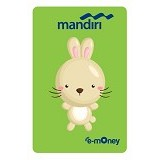 MANDIRI e-Money Special Imlek (Shio Cartoon Kelinci) - E-Toll Pass