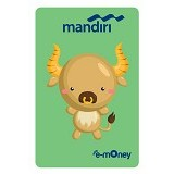 MANDIRI e-Money Special Imlek  (Shio Cartoon Kerbau) - E-Toll Pass