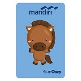 MANDIRI e-Money Special Imlek (Shio Cartoon Kuda) - E-Toll Pass