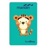 MANDIRI e-Money Special Imlek (Shio Cartoon Macan) - E-Toll Pass