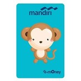 MANDIRI e-Money Special Imlek (Shio Cartoon Monyet) - E-Toll Pass