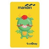 MANDIRI e-Money Special Imlek (Shio Cartoon Naga) - E-Toll Pass