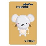 MANDIRI e-Money Special Imlek (Shio Cartoon Tikus)