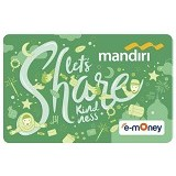 MANDIRI e-Money Special Ramadhan (Lets Share Kindness) - e-Toll Pass