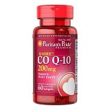 PURITANS PRIDE Coenzyme QSORB Co Q10 200mg 60 Softgels - Suplement Pencegah Penyakit Jantung / Kolesterol
