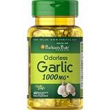 PURITANS PRIDE Odorless Garlic 1000mg 250 Softgels [PPOG250C] - Suplement Pencegah Penyakit Jantung / Kolesterol