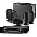 MARANTZ Audio Video Receiver NR1606 + Q Accoustic 7000 - Black (Merchant)