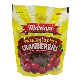 MARIANI Sweetened Cranberry 170gr [P001041] - Buah Kering