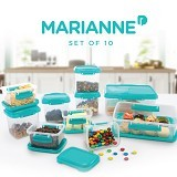 MARIANNE Set Of 10 (Merchant) - Wadah Makanan