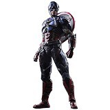 MARVEL Captain America Play Arts Kai Variant (Merchant) - Movie and Superheroes