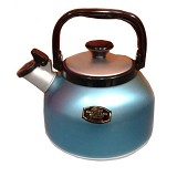 MASPION Whistling Kettle 2.5L - Blue - Kendi / Pitcher / Jug