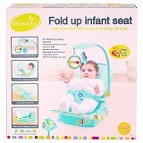 MASTELA Fold Up Infant Seat [IS-pink] - Pink - Baby Walker