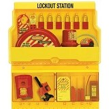 MASTER LOCK Deluxe Safety Lock Out Station [S1900ve1106] - Kunci Kombinasi