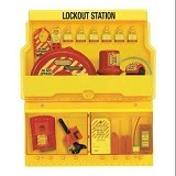 MASTER LOCK Deluxe Safety Lock Out Station [S1900ve3] - Kunci Kombinasi