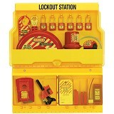 MASTER LOCK Deluxe Safety Lock Out Station [S1900ve410] - Kunci Kombinasi