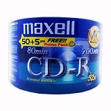MAXELL CD-R Spindel 50 Pcs - Cd-R Disc