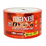 MAXELL DVD-R Spindel 50 Pcs - Dvd-R Disc