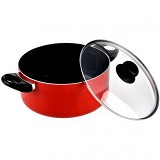 MAXIM Casablanca Collection 22 cm Dutch Oven with Glass Cover (V) - Panci