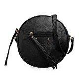 MAYONETTE Balen Shoulder Bag [B000603/BLA/03] - Black (Merchant)