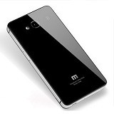 MBAH CASING Backcover Aluminium Glass Xiaomi Redmi Note - Black Silver - Casing Handphone / Case