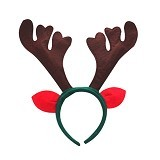 MBIMBEMSHOP Aksesoris Natal Bando Brown Deer Christmas - Green - Bando