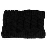 MBIMBEMSHOP Knitting Wool Fashion Headband - Black