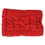 MBIMBEMSHOP Knitting Wool Fashion Headband - Red - Bando