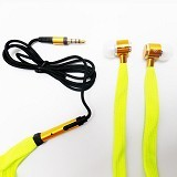 MDISK Earphone [845A] - Kuning - Earphone Ear Monitor / Iem